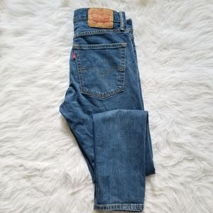 Levis 510 Medium Wash High Rise 30 jeans